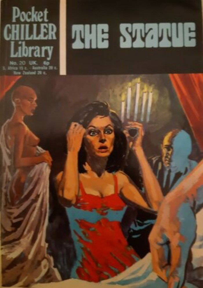 Pocket Chiller Library No. 20 - The Statue