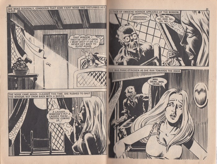 Pocket Chiller Library 43 - The Dead are Awake and Walking - interior art by Dave Gibbons