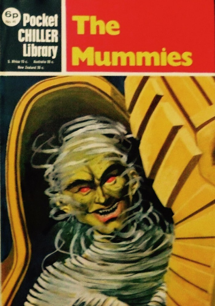 Pocket Chiller Library No. 46 - The Mummies