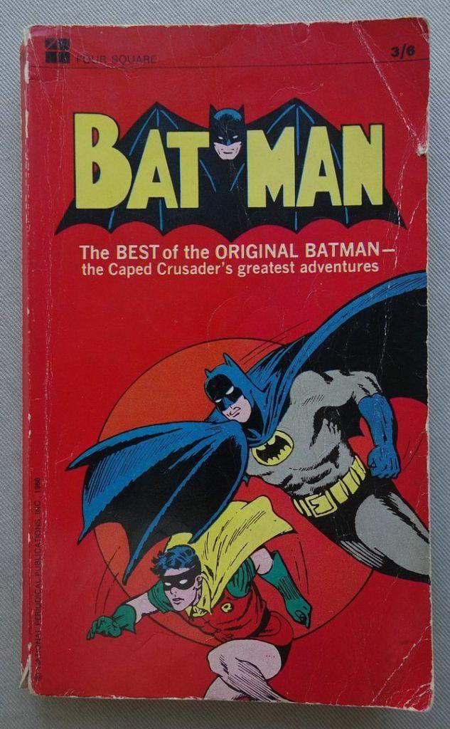 Batman Paperback Book (1966)