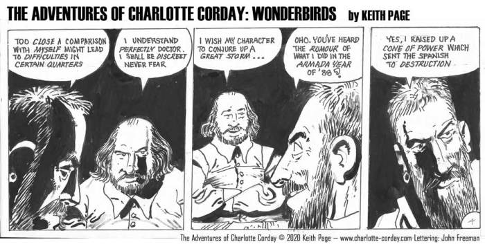 Charlotte Corday - Wonderbirds at Your Service Part 4