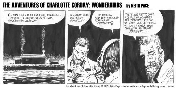 Charlotte Corday - Wonderbirds at Your Service Part 5