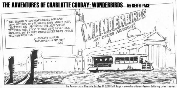Charlotte Corday - Wonderbirds at Your Service Part 6