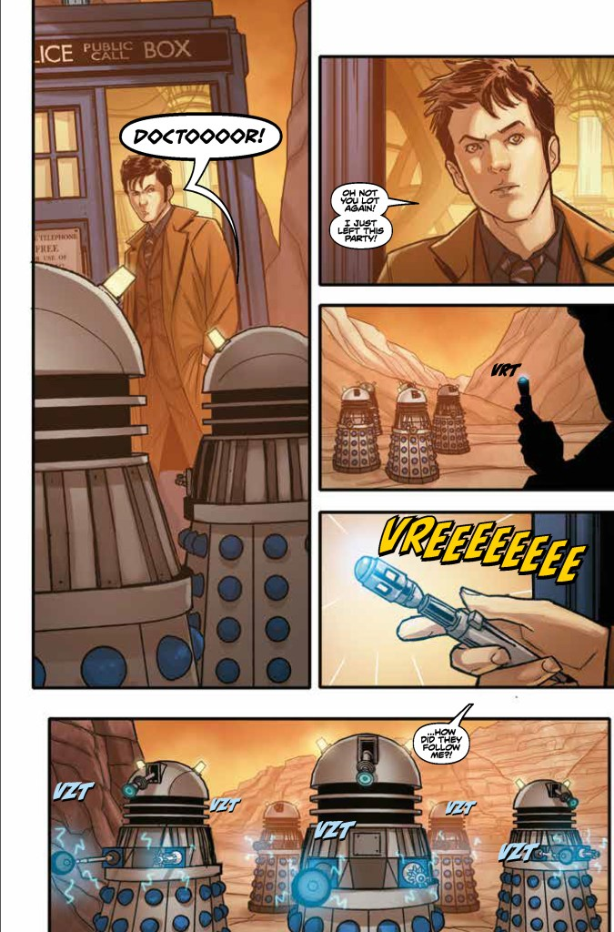 Doctor Who: Time Lord Victorious #1 - Sample Art 1