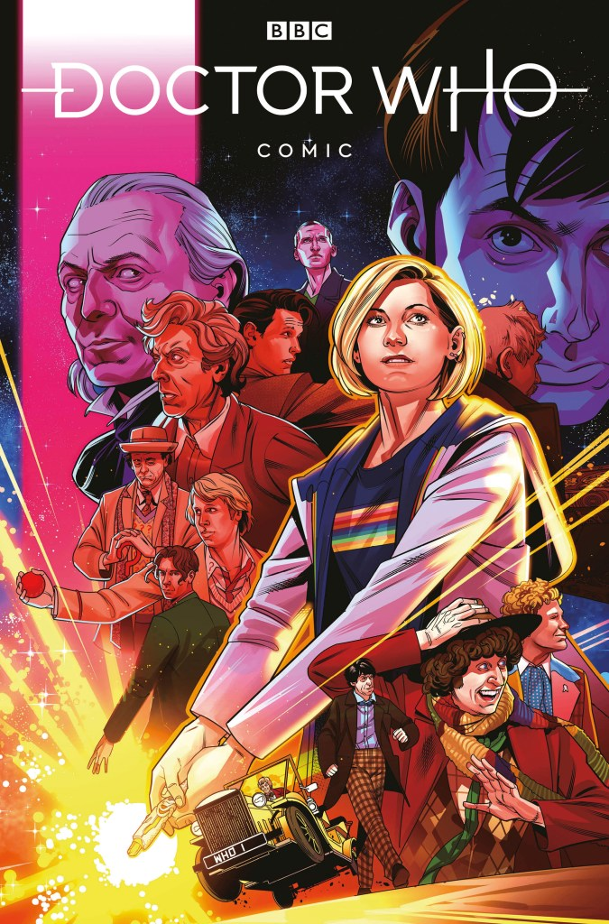 Doctor Who Comic #1 (2020) - Cover E by Rachael Stott