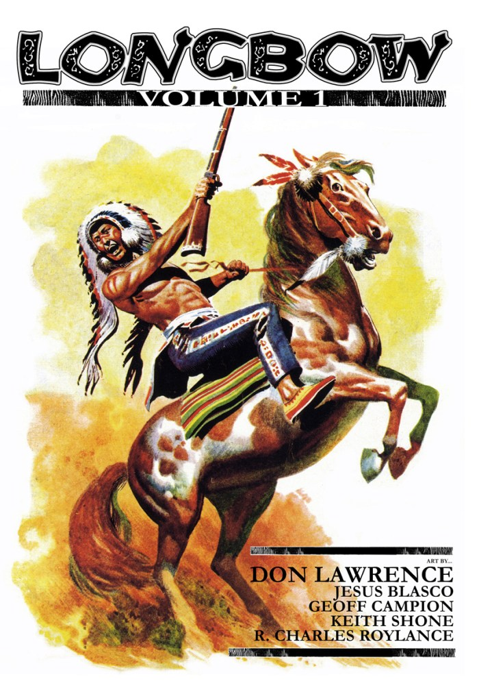 Longbow Volume 1 - Cover by Don Lawrence
