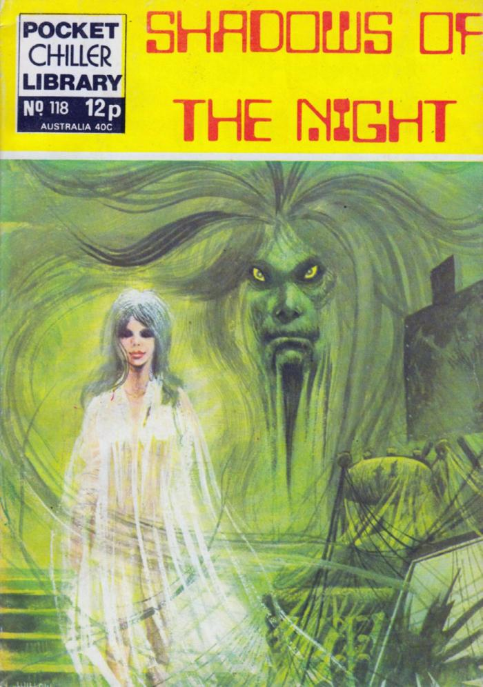 Pocket Chiller Library 118 - Shadows of the Night