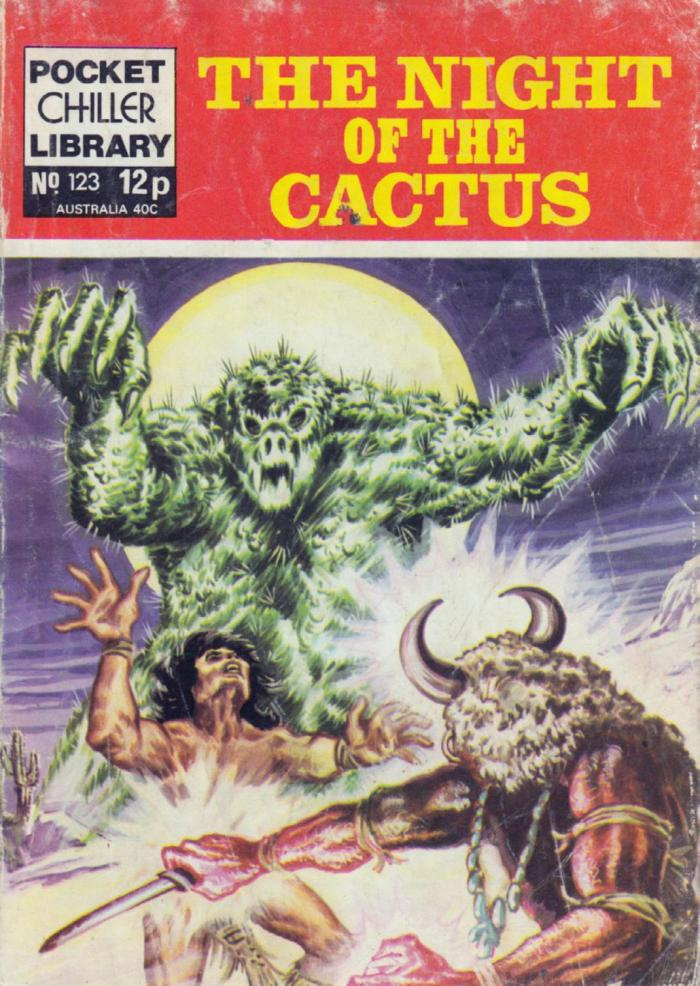 Pocket Chiller Library 123 - The Night of the Cactus