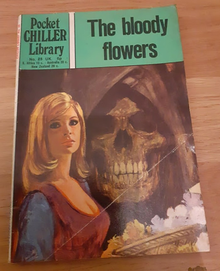 Pocket Chiller library 25 - The bloody flowers