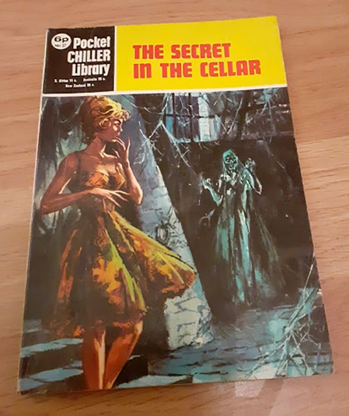 Pocket Chiller library 27 - The Secret in the Cellar
