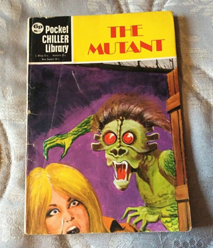 Pocket Chiller library 35 - The Mutant
