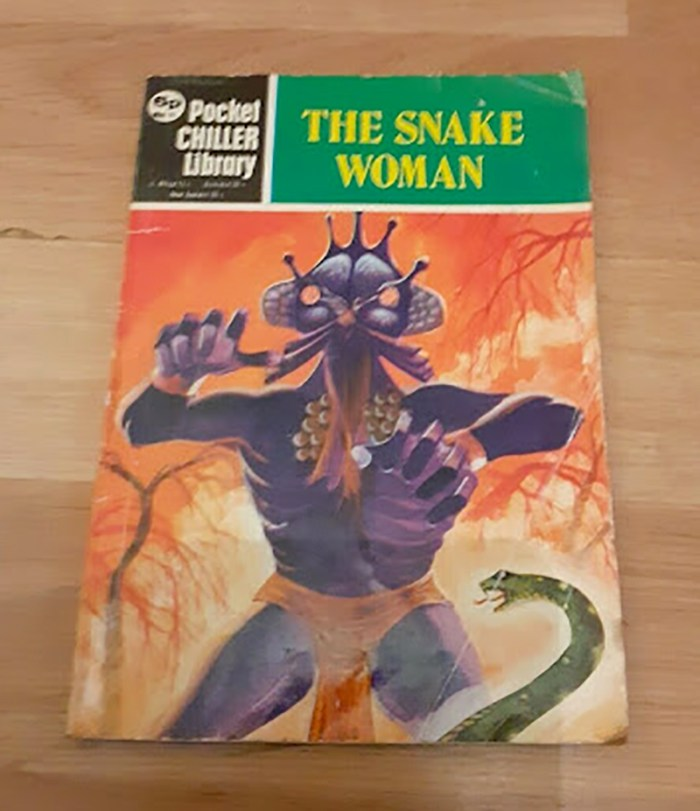 Pocket Chiller Library 50 -The Snake Woman