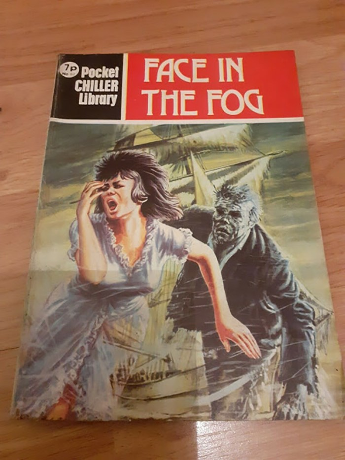 Pocket Chiller Library 62 - Face in the Fog
