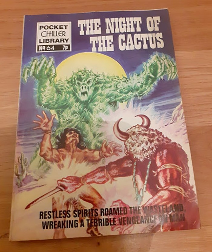 Pocket Chiller Library 64 - The Night of the Cactus