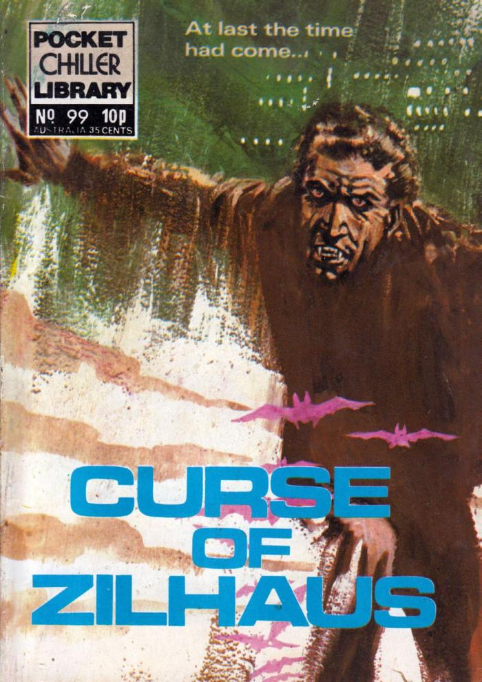 Pocket Chiller Library 99 - The Curse of Zilhaus