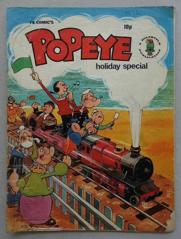 Popeye Holiday Special 1972