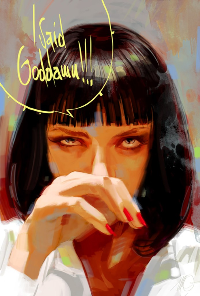 Pulp Fiction - Alternative Poster by Massimo Carnevale