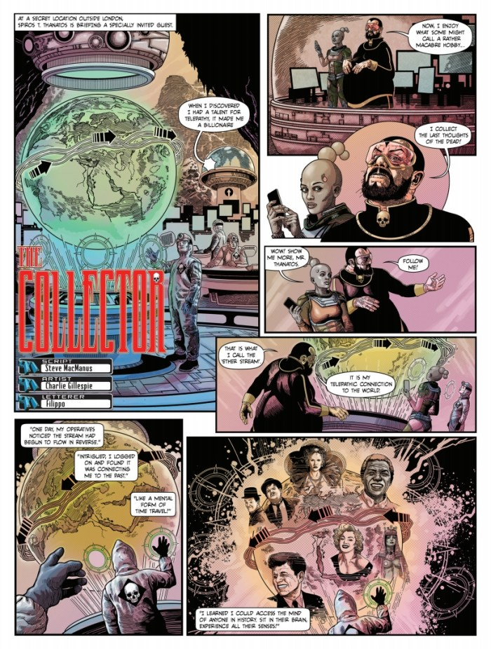 The77 - The Collector by Steve MacManus and Charlie Gillespie