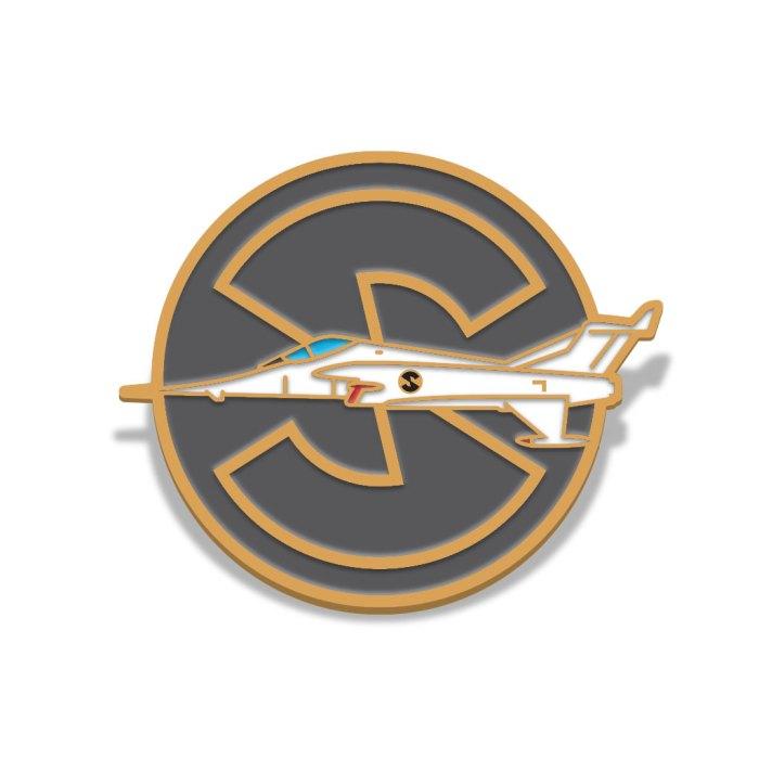Captain Scarlet Angel Interceptor Badge by Florey
