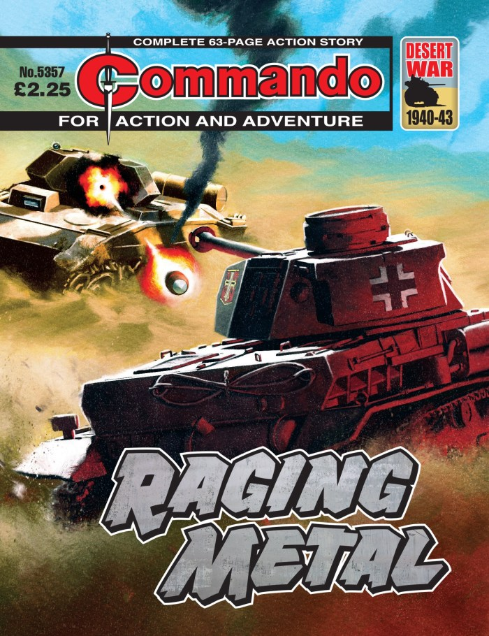 Commando 5357 - Action and Adventure: Raging Metal