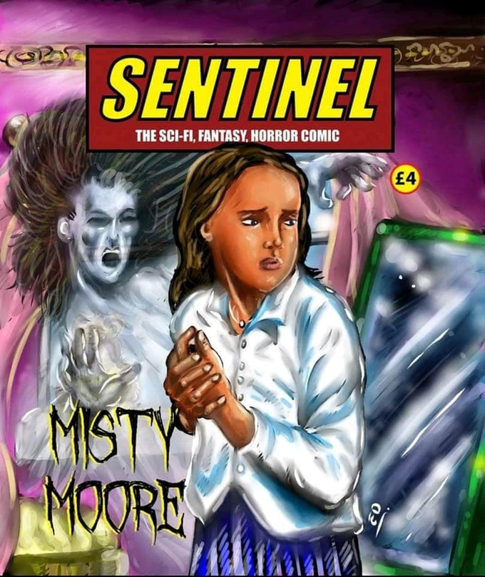 Sentinel Issue 4 - Misty Moore - Regular Cover by Ed Doyle