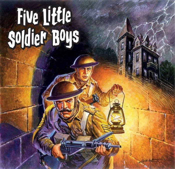 Commando 5371: Home of Heroes: Five Little Soldier Boys - Full Cover