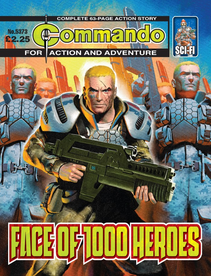 Commando 5373: Action and Adventure: Face of 1000 Heroes