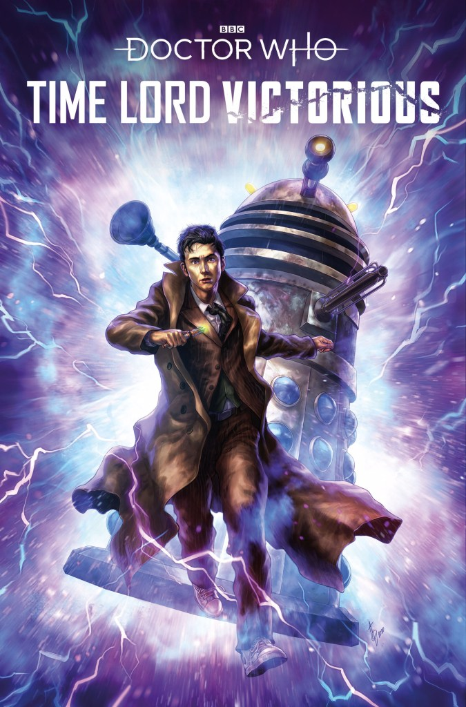 Doctor Who - Time Lord Victorious #2 Cover by Alan Quah