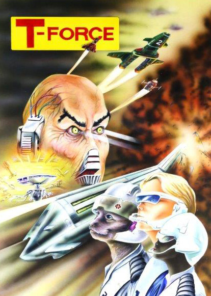 """Concept art for Gerry Anderson's  unmade series """"T Force"""""""