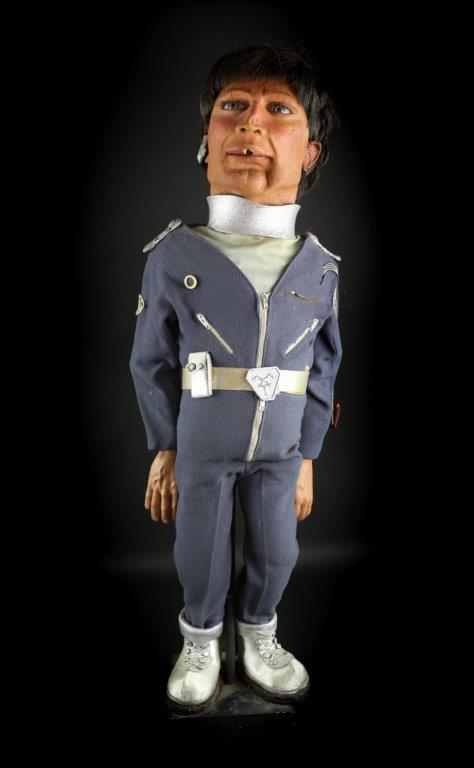 Dr Tiger Ninestein puppet. The lead character of the Terrahawks