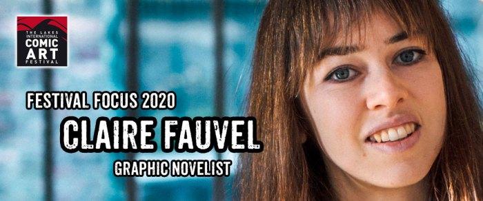 Lakes Festival Focus 2020: Graphic Novelist Claire Fauvel