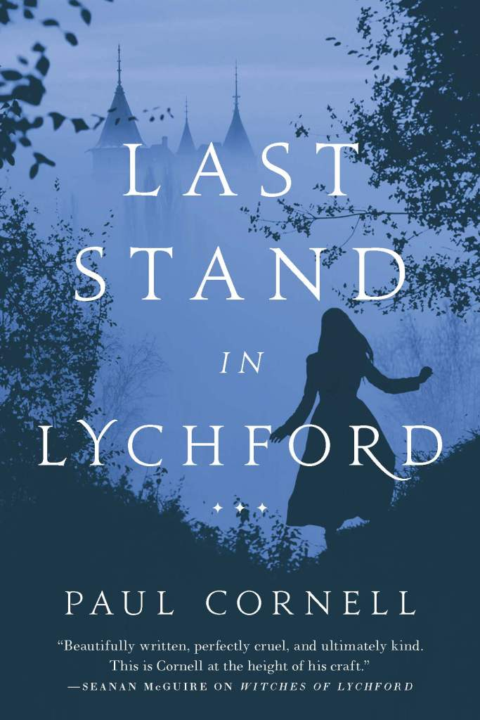 Paul Cornell's final Lychford novella, Last Stand in Lychford, will be out from Tor.com Publishing on 17th November 2020
