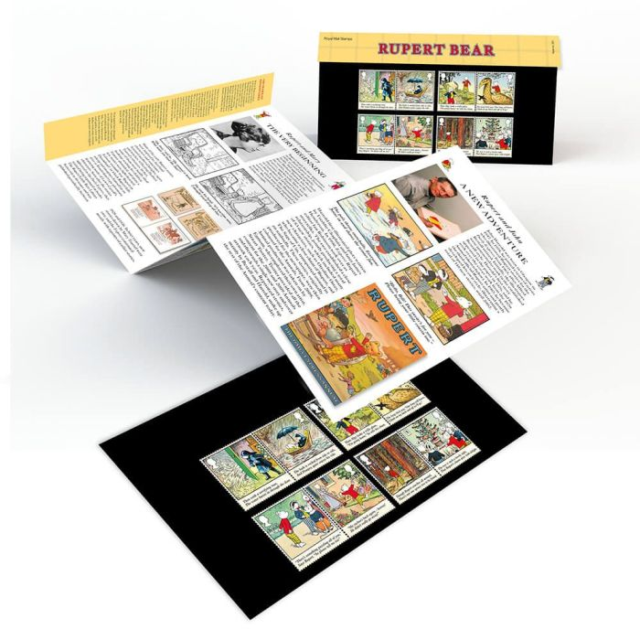 Rupert the Bear Special Issue Stamps 2020 - Presentation Pack