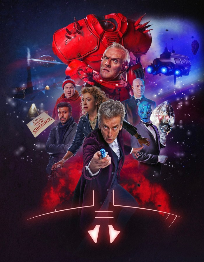 Doctor Who art by Lee Johnson