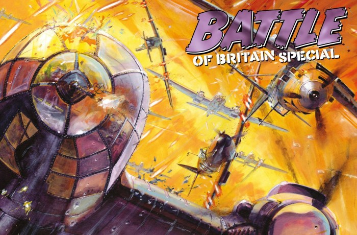 Exclusive web store cover by Keith Burns for the 2020 Battle Special