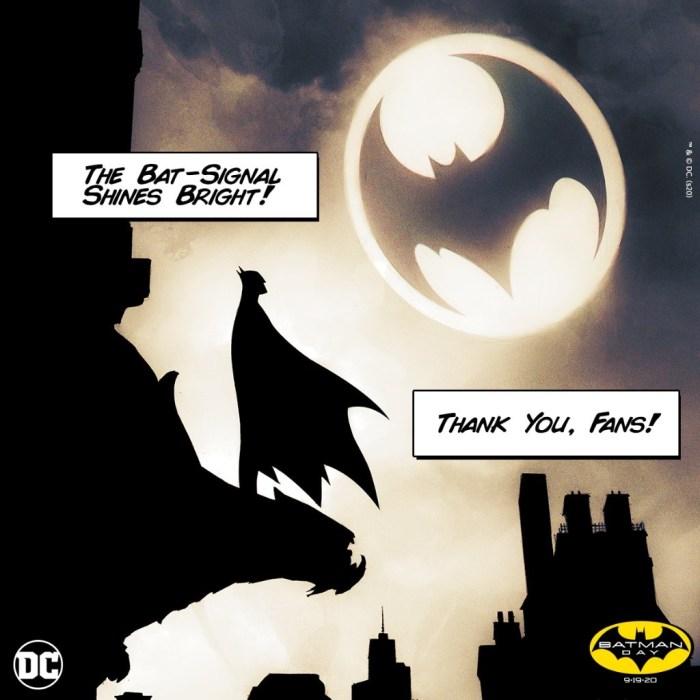 Batman Day 2020 - Bat Signal