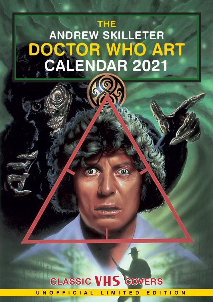 Andrew Skilleter's Doctor Who VHS Cover Art Calendar 2021