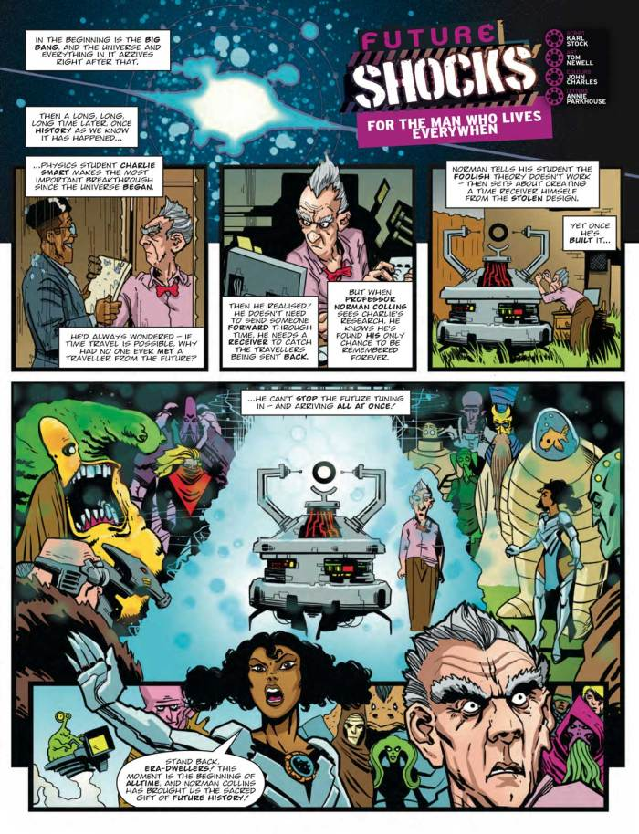 2000AD 2206 - Future Shocks: For The Man Who Lives Everywhen