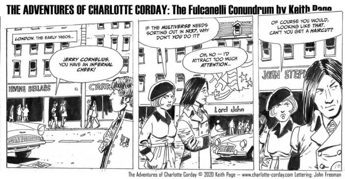 """An episode of """"Charlotte Corday - The Fulcanelli Conundrum"""" by Keith Page"""