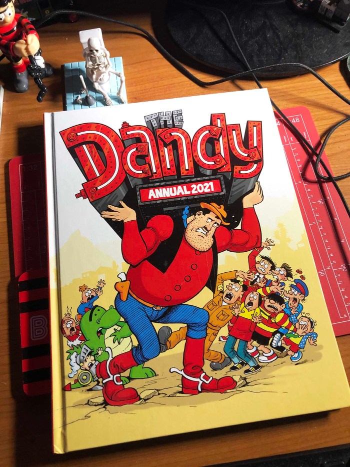 The Dandy Annual 2021 - Cover