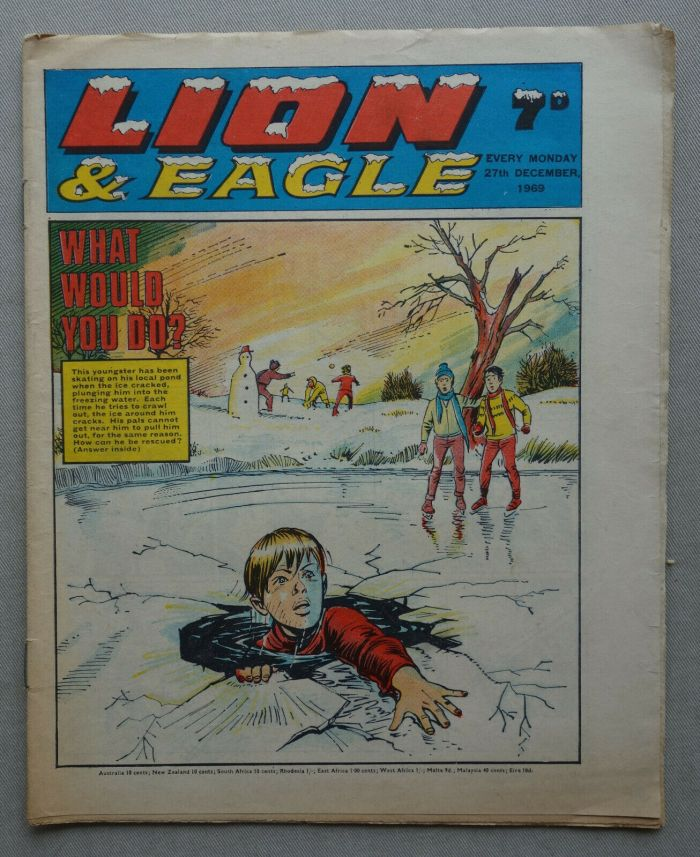 Lion and Eagle Christmas Issue, cover dated 27th December 1969