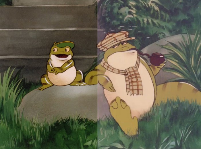 The Rupert and the Frog Chorus film has been restored and re-mastered in 4D for its 2020 re-release