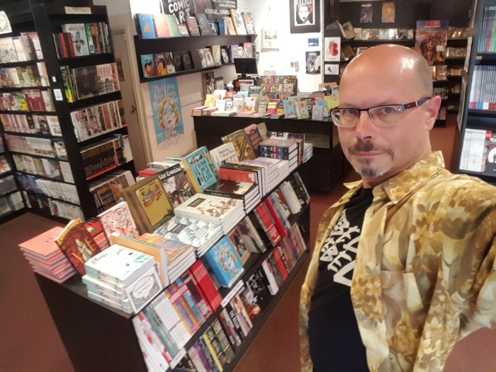 Stephen L. Holland, Comics Laureate 2021 - 2023