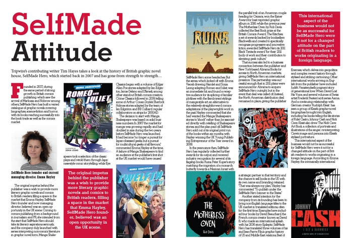 Tripwire Magazine Autumn Special - Sample Spread