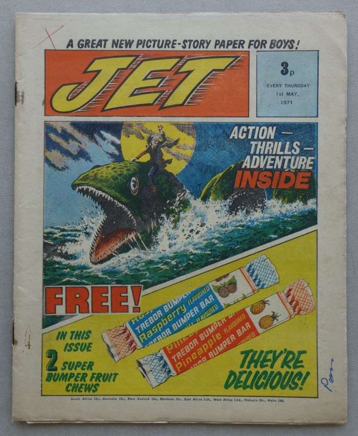 Jet No. 1 - cover dated 1st May 1971