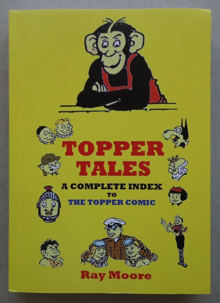 Topper Tales - a Guide to Topper comic by Ray Moore