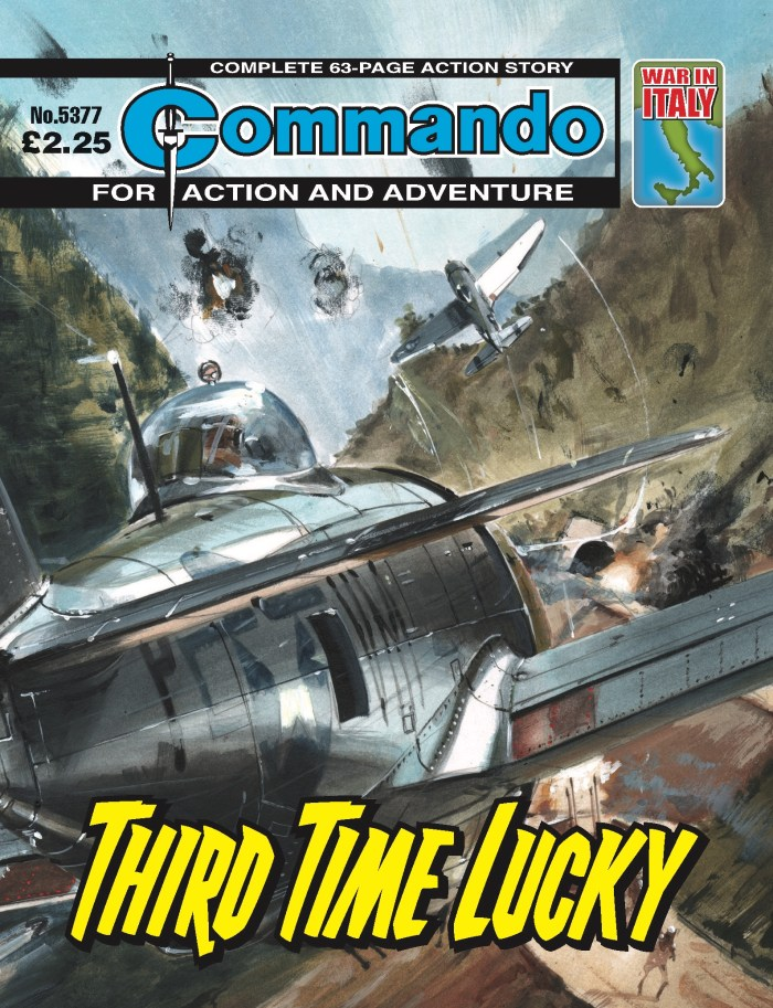 Commando 5377: Action and Adventure: Third Time Lucky