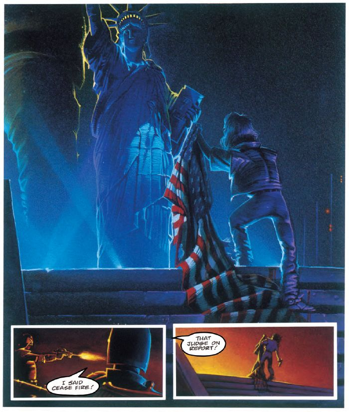 Judge Dredd - America, Lost & Found, The Rediscovered Scripts - Sample