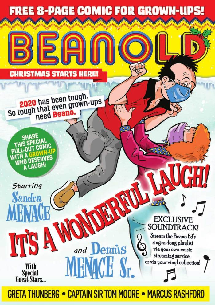 """Beano goes (partly) """"Beanold"""" today with a dig at Dominic Cummings, Boris Johnson and more"""