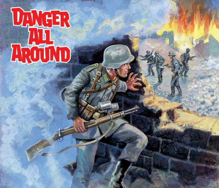 Commando 5386: Silver Collection: Danger All Around Full